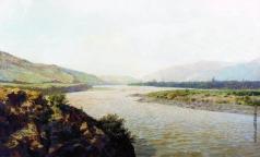 Киселев А. А. Река Кура