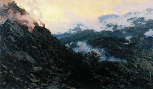 Киселев А. А. Старый Сурамский перевал