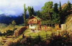 Киселев А. А. Южный пейзаж