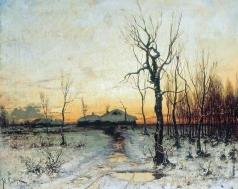Клевер Ю. Ю. Зима