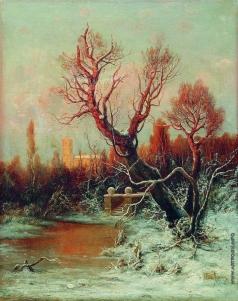 Клевер Ю. Ю. Зима в старом парке