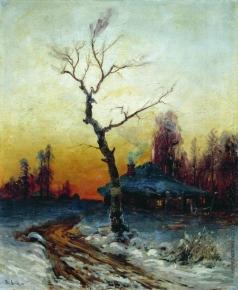 Клевер Ю. Ю. Зимний вечер
