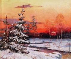Клевер Ю. Ю. Зимний пейзаж