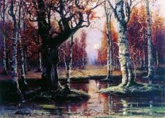Клевер Ю. Ю. Лесной пейзаж