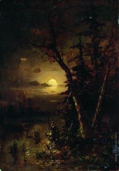 Клевер Ю. Ю. Лунная ночь