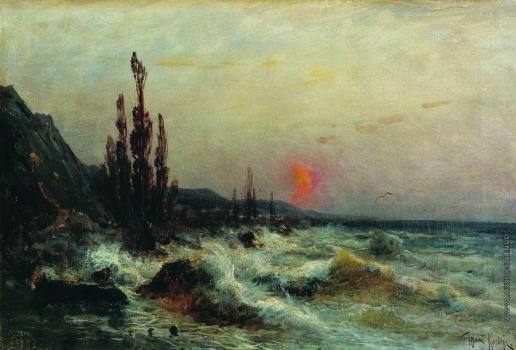 Клевер Ю. Ю. Море