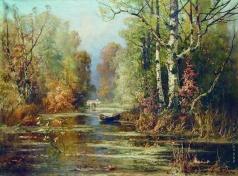 Клевер Ю. Ю. Осенний парк