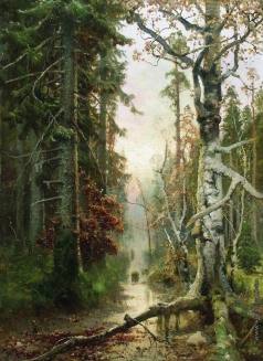 Клевер Ю. Ю. Осень в лесу