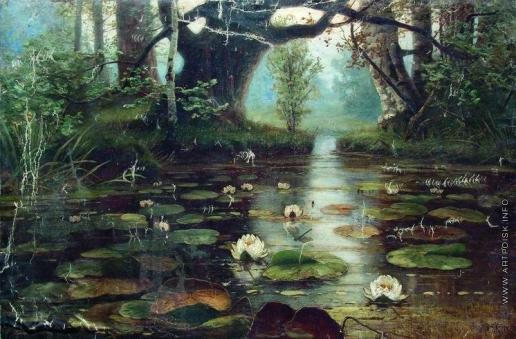 Клевер Ю. Ю. Пруд с белыми лилиями