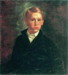 Корзухин А. И. Автопортрет
