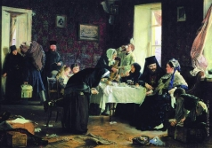 Корзухин А. И. В монастырской гостинице