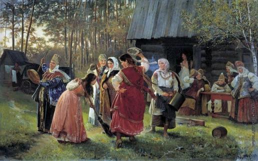 Корзухин А. И. Девичник