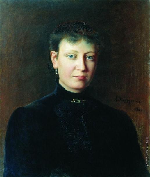 Корзухин А. И. Женский портрет
