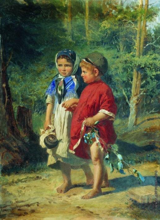 Корзухин А. И. Крестьянские дети