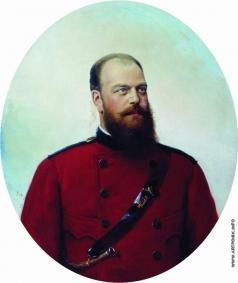 Корзухин А. И. Портрет Александра III