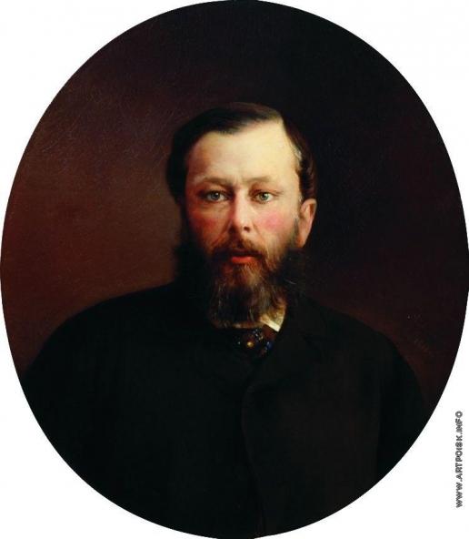 Корзухин А. И. Портрет неизвестного