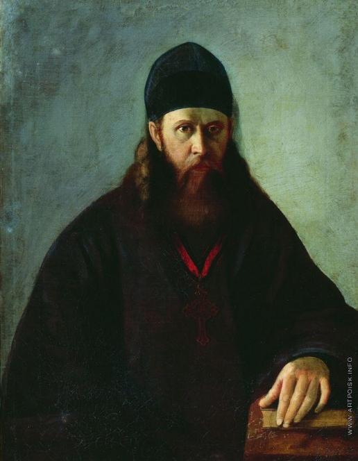 Корзухин А. И. Портрет священника П.В. Удинцева
