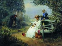 Корзухин А. И. Похороны собаки