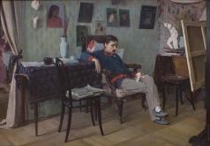 Корин А. М. Больной художник