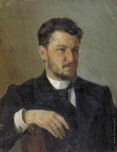 Корин А. М. Портрет Н.С. Аммосова