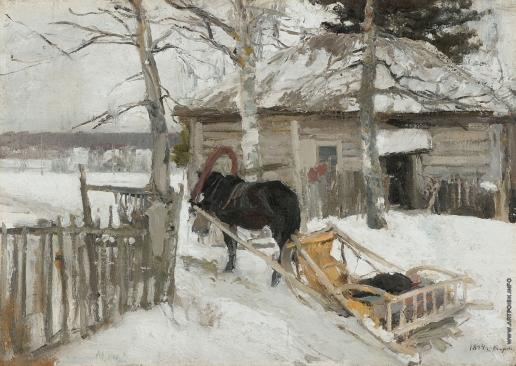 Коровин К. А. Зимой