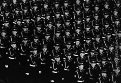 Абаза А. Б. На параде. 7 ноября 1982 года