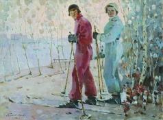 Котов П. И. Лыжницы