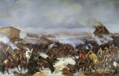 Коцебу А. Е. Сражение под Нарвой 19 ноября 1700 года