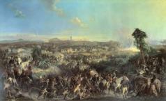 Коцебу А. Е. Сражение при Нови