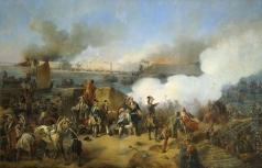 Коцебу А. Е. Штурм крепости Нотебург 11 октября 1702 года