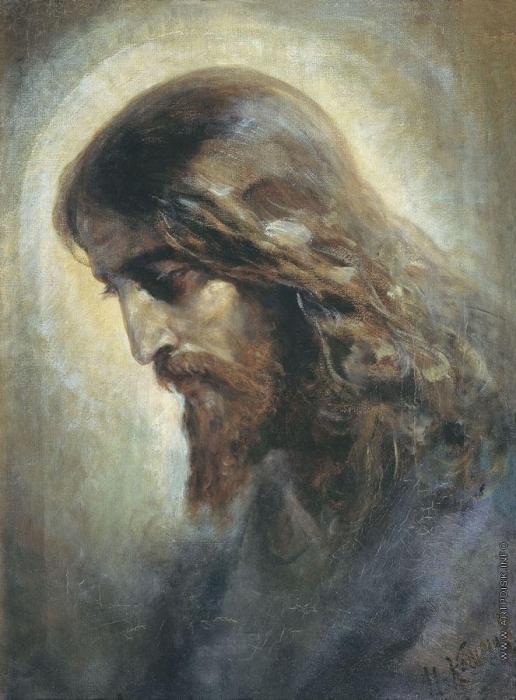 Кошелев Н. А. Голова Христа