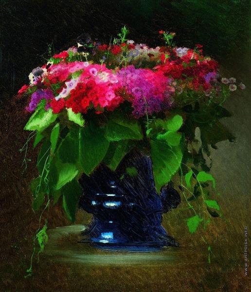 Крамской И. Н. Букет цветов. Флоксы