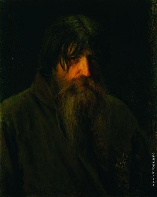 Крамской И. Н. Голова крестьянина