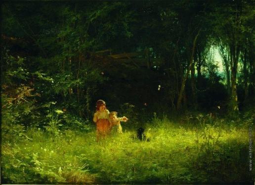 Крамской И. Н. Дети в лесу