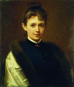 Крамской И. Н. Женский портрет