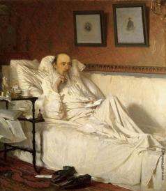 """Крамской И. Н. Н.А. Некрасов в период """"Последних песен"""". 1877–"""