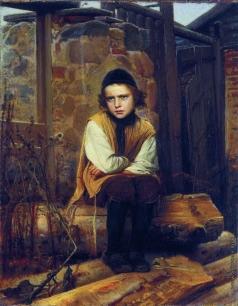 Крамской И. Н. Оскорбленный еврейский мальчик