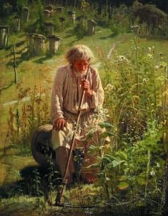 Крамской И. Н. Пасечник