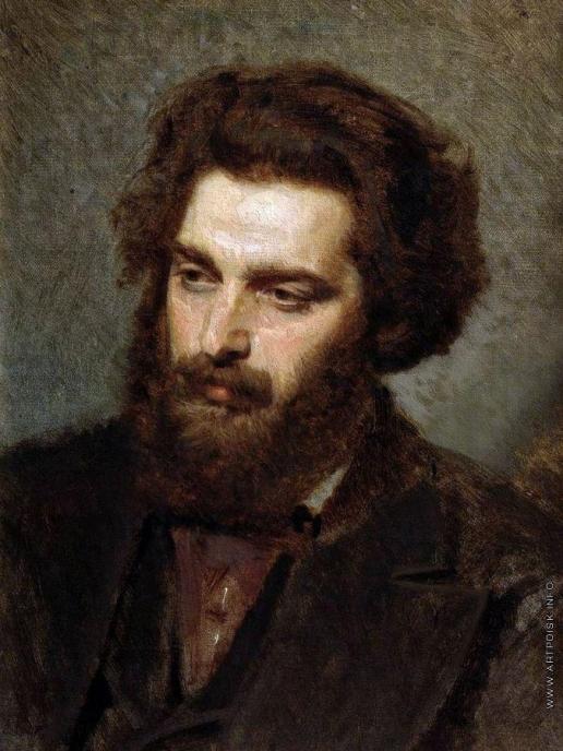 Крамской И. Н. Портрет А.И.Куинджи