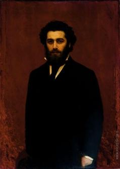 Крамской И. Н. Портрет А.И. Куинджи