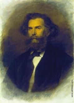 Крамской И. Н. Портрет А.П. Боголюбова