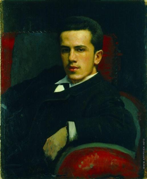 Крамской И. Н. Портрет Анатолия Ивановича Крамского, сына художника