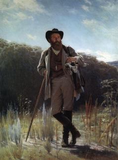 Крамской И. Н. Портрет И.И.Шишкина