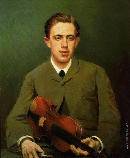 Крамской И. Н. Портрет Николая Ивановича Крамского, сына художника