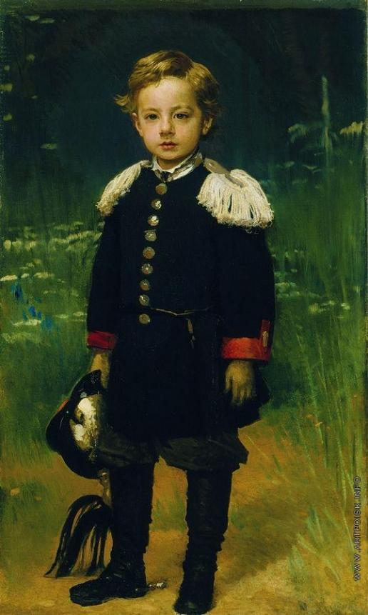 Крамской И. Н. Портрет Сергея Крамского, сына художника