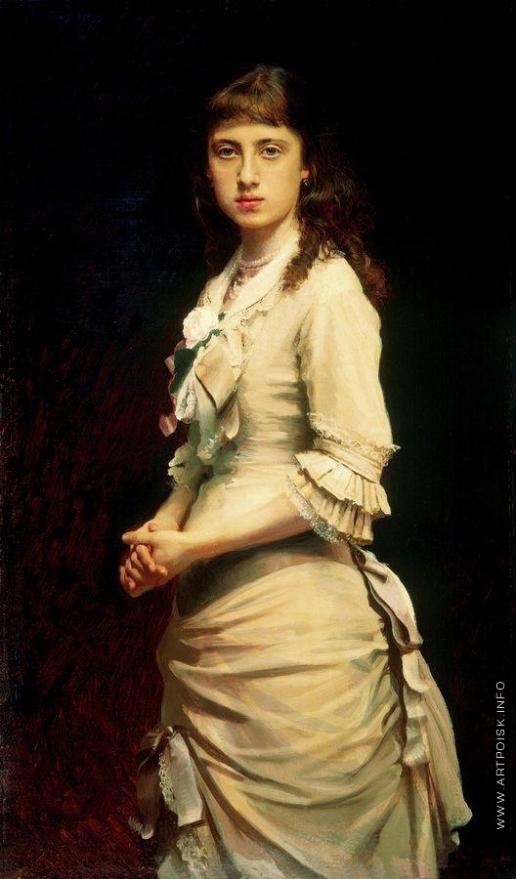 Крамской И. Н. Портрет Софьи Ивановны Крамской, дочери художника