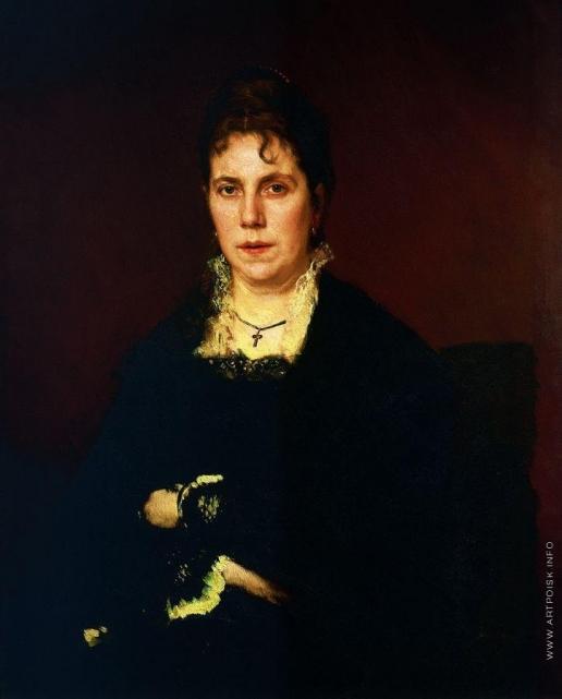 Крамской И. Н. Портрет Софьи Николаевны Крамской, жены художника