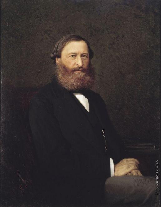 Крамской И. Н. Портрет Ю.Ф.Самарина