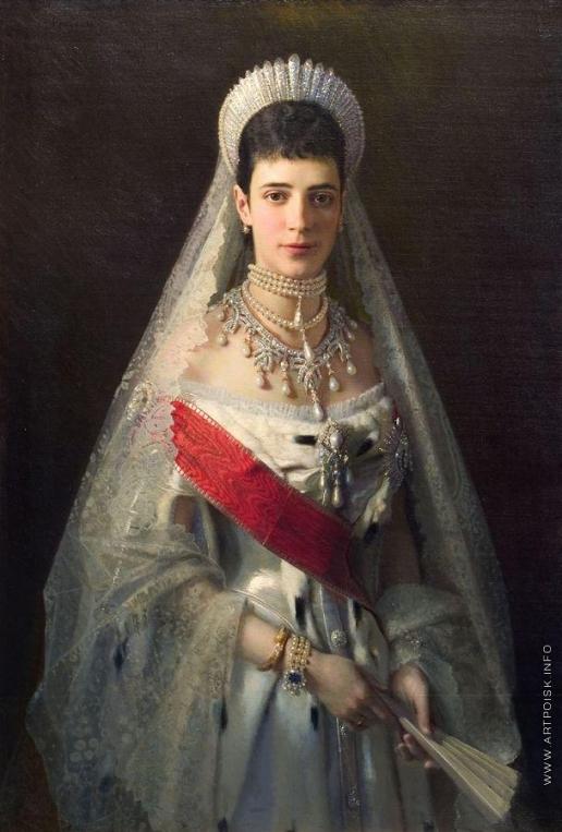 Крамской И. Н. Портрет императрицы Марии Фёдоровны
