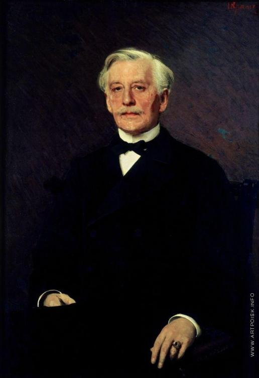 Крамской И. Н. Портрет князя Павла Ивановича Ливена